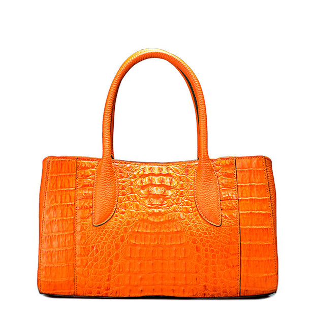 Handmade Women Summer Crocodile Handbag - jranter