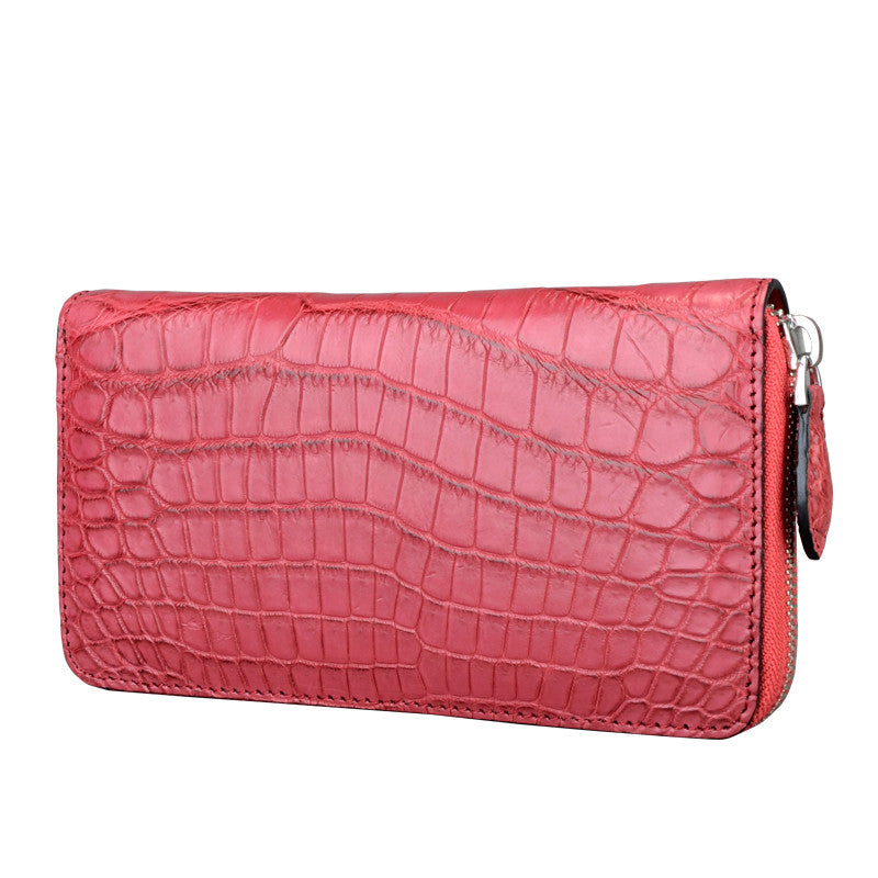 Croc Belly Women Wallet - jranter