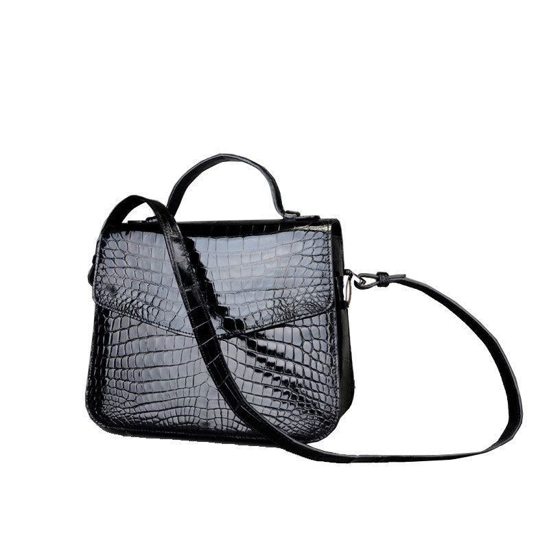 Luxury Niloticus Crocodile Women Handbag - jranter