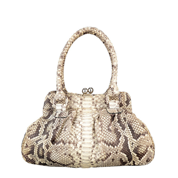 Women Real Python Skin Bag