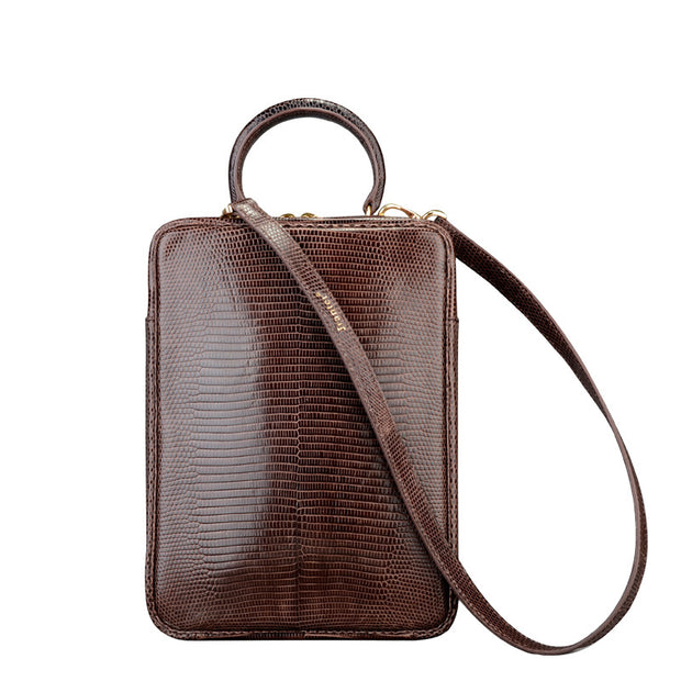 lizard Handbag For Men - jranter