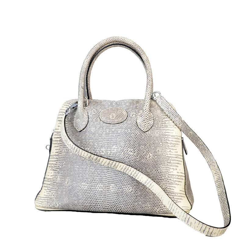 Handmade Women Lizard Handbag - jranter