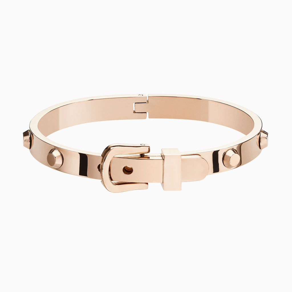 Buckle Rose Gold Bangle