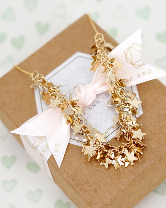 Thousand Stars Necklace | Whimsical Magical Fairytale Chic Jewelry