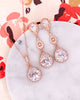 Rose Gold Luxe Teardrop Jewelry Set