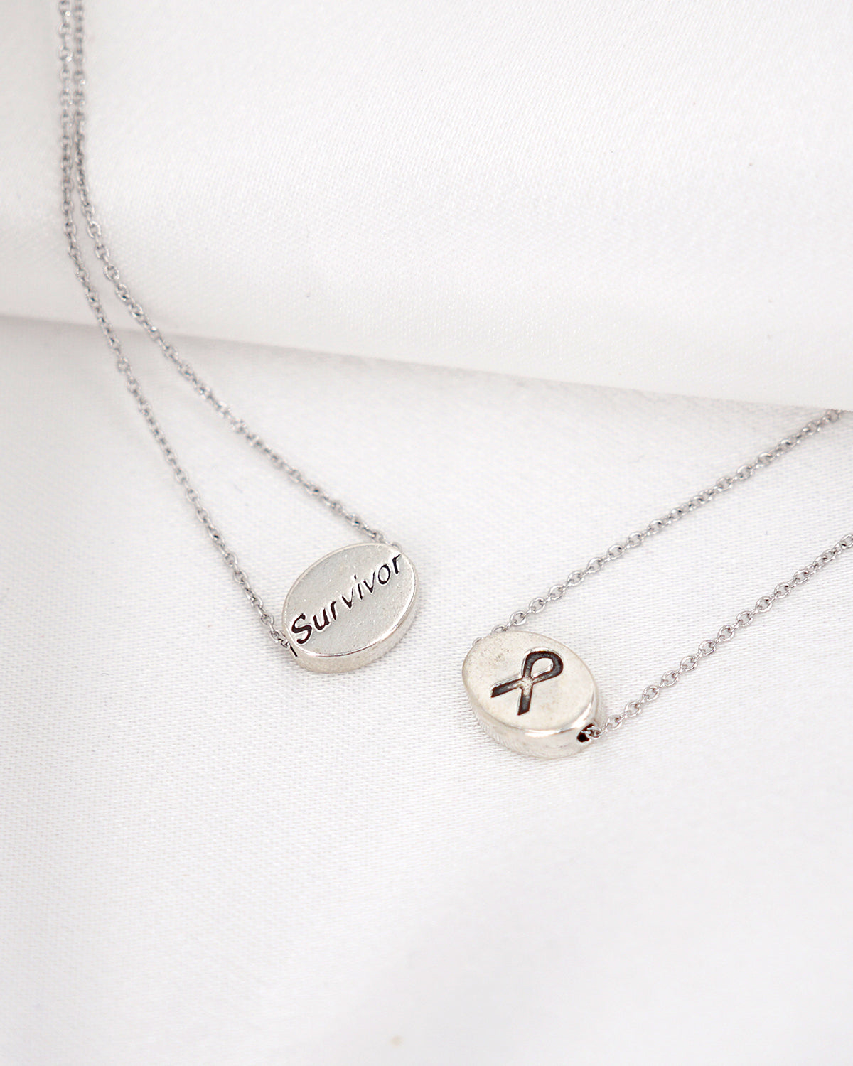 Cancer Survivor Necklace | Jewelry for a Cause | Proceeds to Charity
