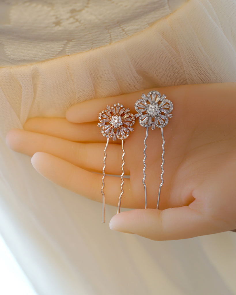 Timeless CZ Hair Pin