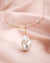 Iridescent White Baroque Necklace | Y-drop Freshwater Flameball Pearl Jewelry