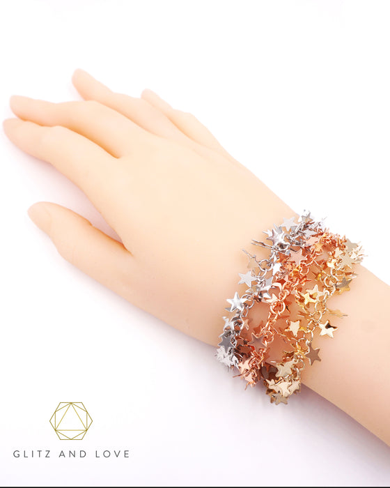 Thousand Stars Braelets | Whimsical Magical Fairytale Chic Jewelry