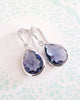 Tanzanite Teardrop Jeweley Set
