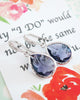 Tanzanite Teardrop Earrings