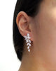 Silver Marquise CZ Jewelry Set