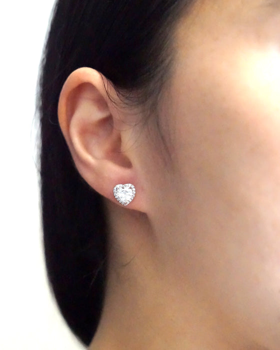 Love Ear Studs Earrings
