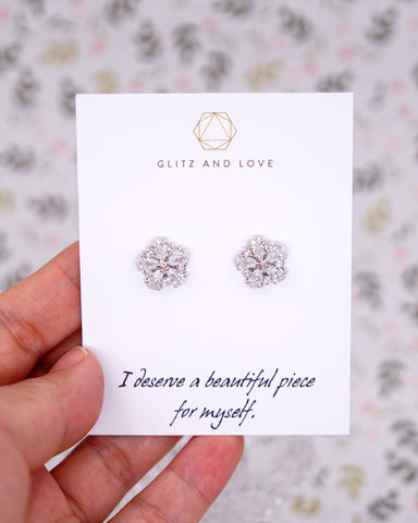 Flower Ear Studs Earrings