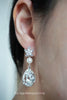 Starfish Earrings with Swarovski Crystal