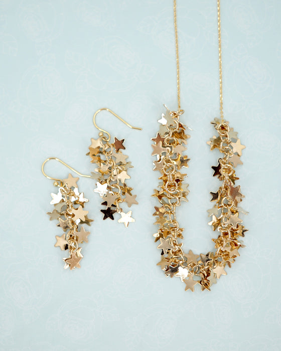 Thousands Stars Necklace | Fairytale Whimsical Magic Dreamy Jewelry
