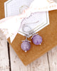 Amethyst Jewelry Set - Simple