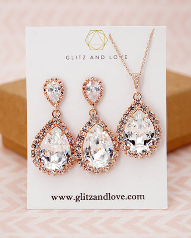Luxe Swarovski Crystal Earrings