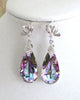 Swarovski Vitrail Light Teardrop Jewelry Set