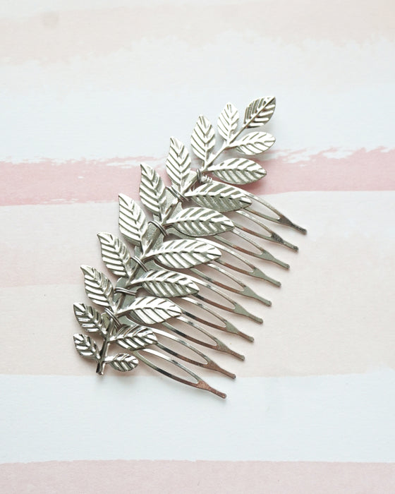 Olive Leaf Hair Comb