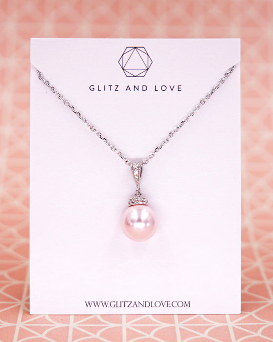 Rosaline Pearl Necklace