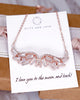 Angel Wing CZ Necklace