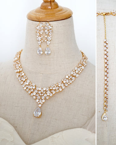Statement Princess Backdrop Necklace