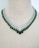 Emerald Statement Princess Necklace