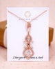 Rose Gold Art Deco Chandelier Bracelet