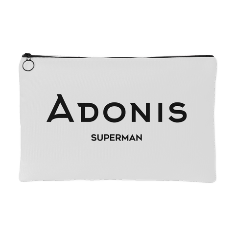 Adonis Superman | Accessory Pouch | BLACK