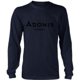Adonis | District Cotton Long Sleeve | BLACK