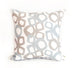 Bow Linen Cotton Pillow (18x18) – Stone