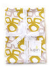 Bow Linen Cotton Tea Towel (18.5x25) – Mustard
