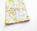 Bow Linen Cotton Tea Towel Mint