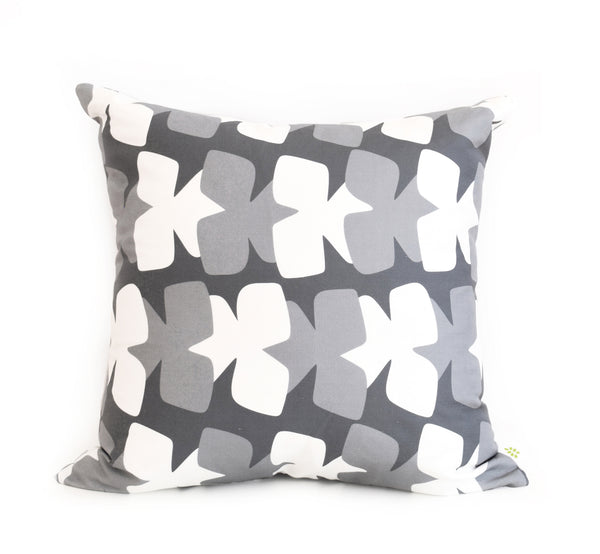 Tilt Linen Cotton Pillow (18x18) – Charcoal
