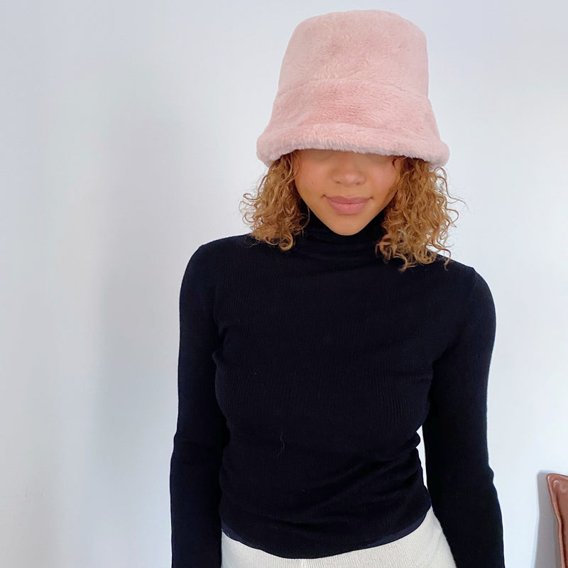 Teddy Hat - rose powder