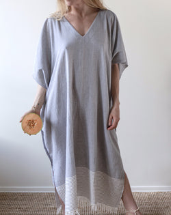 Bahia Caftan - Blue grey