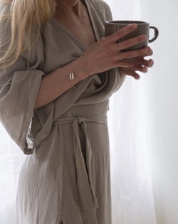 Alaise Dress - Taupe