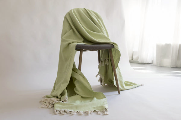 Naia Blanket - Lime