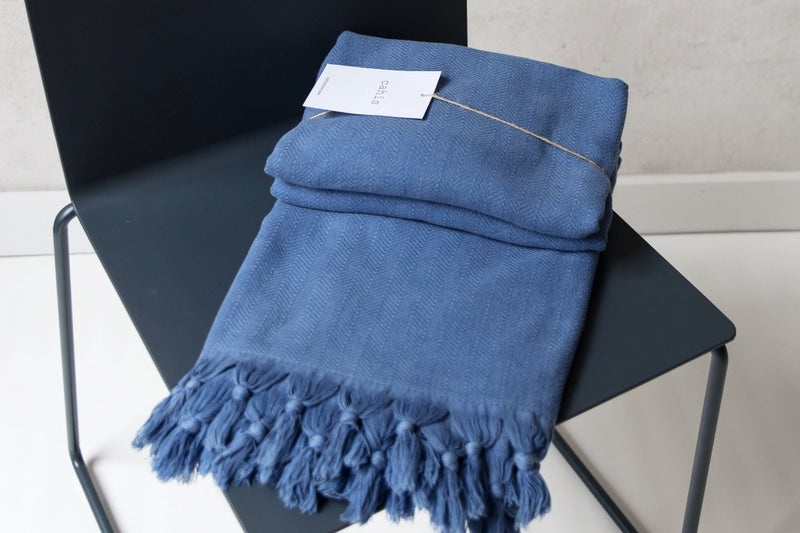 Kingston Blanket Blue