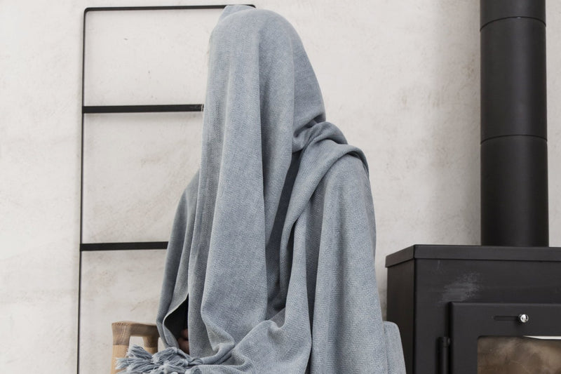 Kingston Blanket - Grey