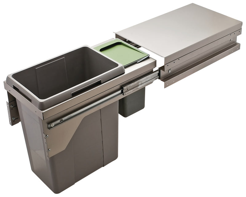 Trash Can Pull-Out Hailo US Cargo 15 by Hafele