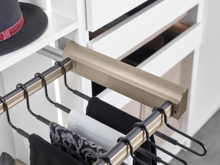 Pant-Rack-Pull-Out Frame-Hafele