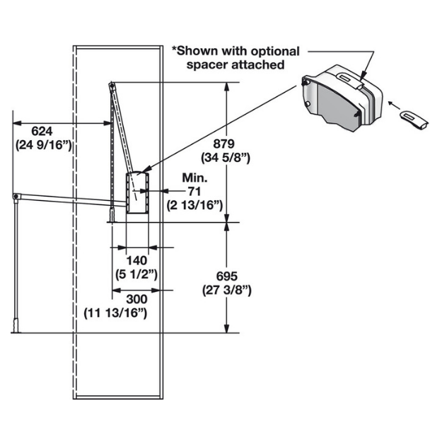 pull-down-closet-rod-hafele-dimensions
