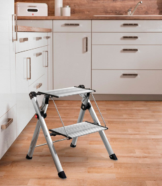 Outstanding Folding Step Stool By Hafele With Handle Evergreenethics Interior Chair Design Evergreenethicsorg