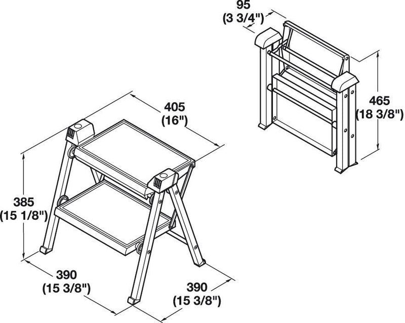 step-stool-hafele-advance-design-dimensions