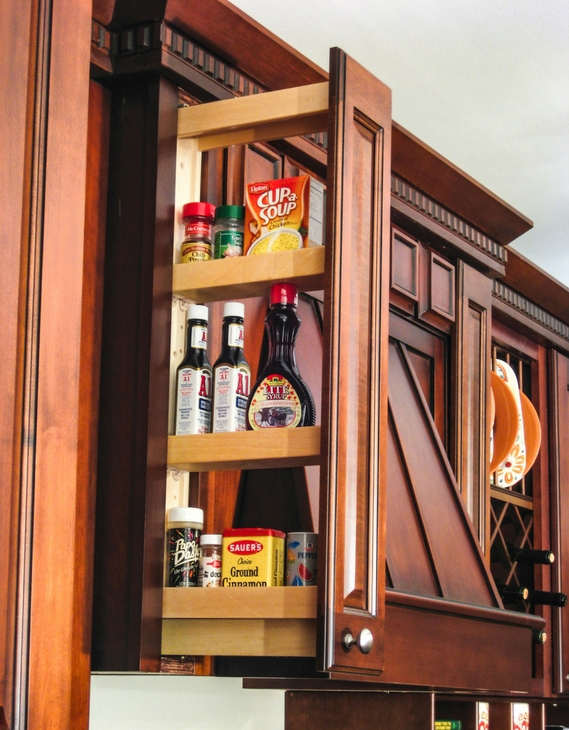 Wall Cabinet Filler Pull-Out Organizer by Hafele