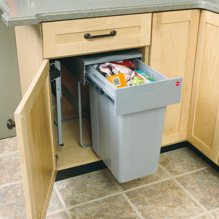 Waste Bin Pull-Out Hailo Easy Cargo 40 by Hafele