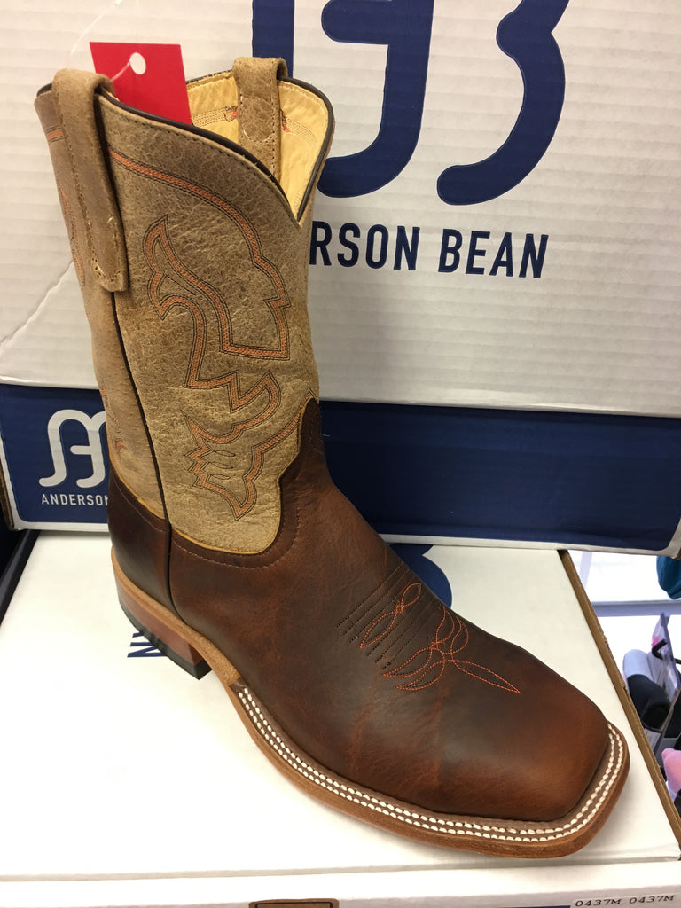 Anderson Bean Quot The Steel Toe Quot 10 Quot Wide Square Toe Boots