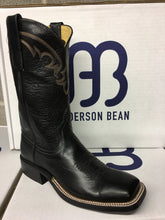 "Ladies Anderson Bean ""Black Out"" 11"" Wide Square toe"